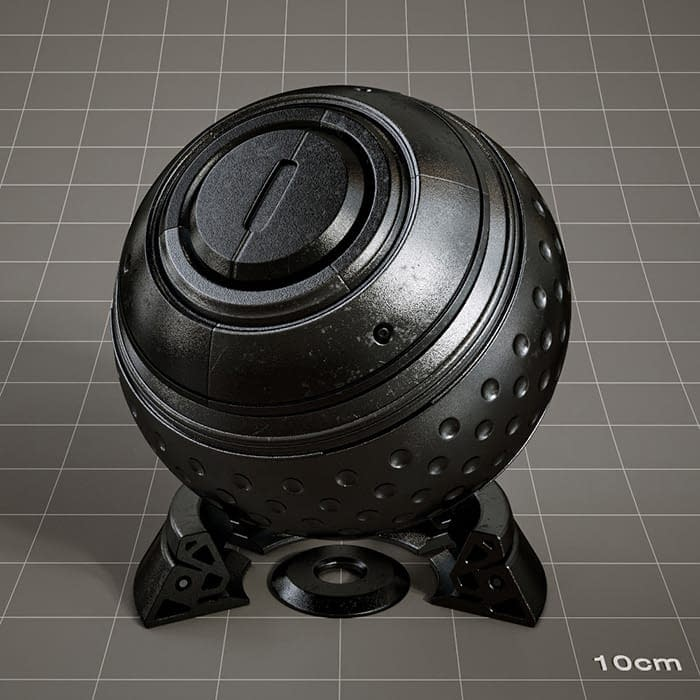 Redshift-material-library-c4d-material-4K-PBR-textures-Metal-black-1