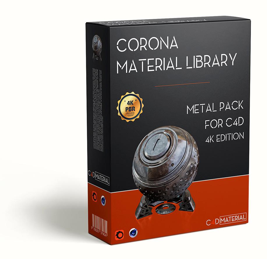 SHADER_PACK_C4D_CORONA_METAL-PROMOTION_V2_4K