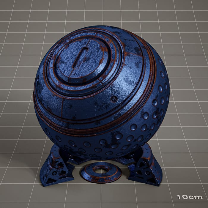 Redshift-material-library-c4d-material-4K-PBR-textures-Metal-material-2