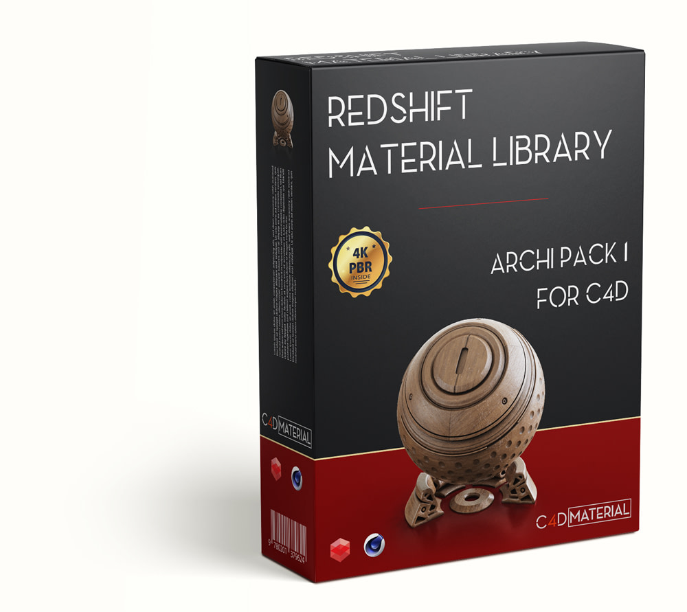 Redshift-c4d-material-library