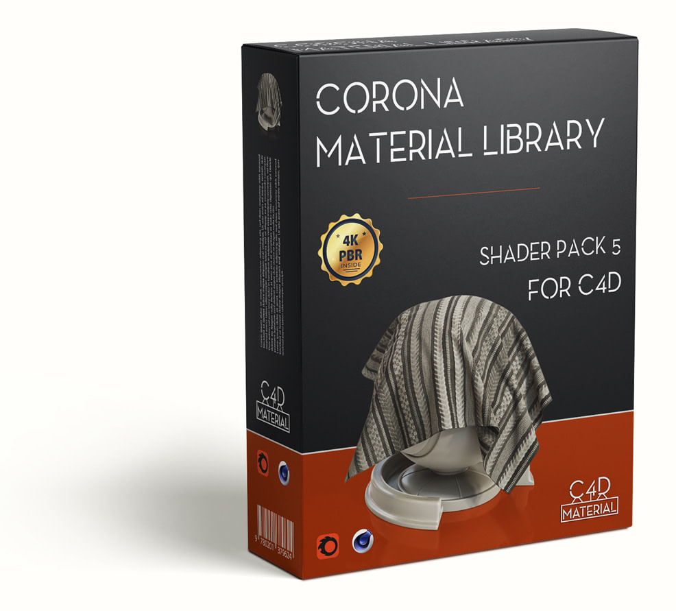 Corona-material-library-c4d-PBR-textures-pack-5-box-small