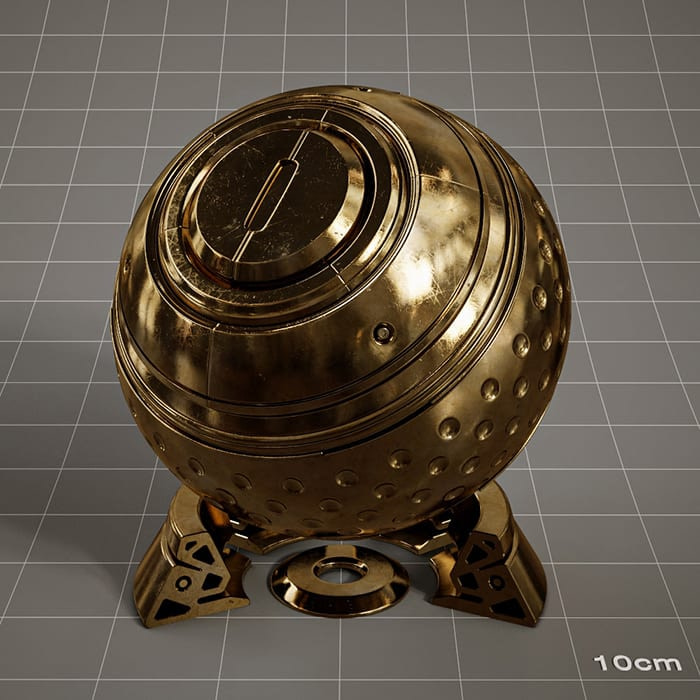 Redshift-material-library-c4d-material-4K-PBR-textures-Metal-material-1