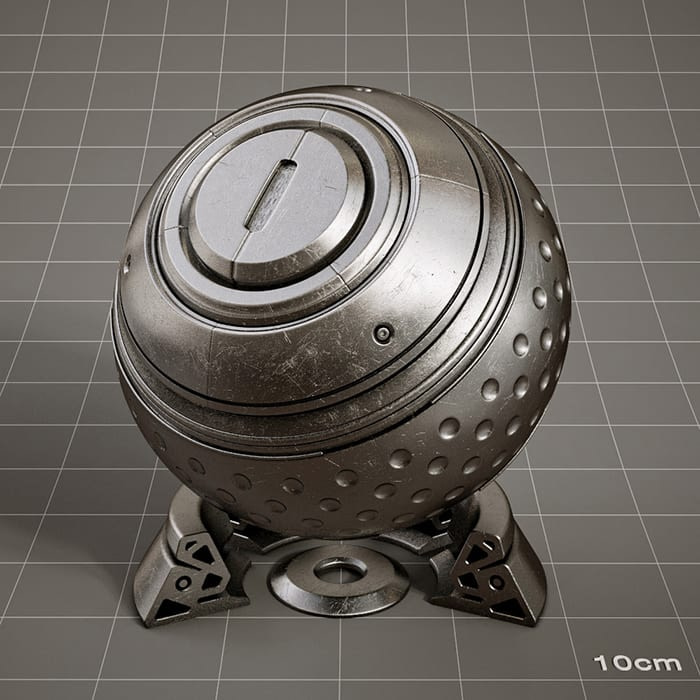 Redshift-material-library-c4d-material-4K-PBR-textures-Metal-material-4